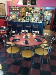 Café Miranda is a fun and funky bistro located at 25 Oak Street, Rockland