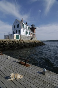 Rockland's Breakwater Lighthouse