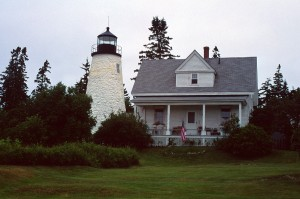 Dyce Head Light is one of the lighthouses open for the Midcoast Lighthouse Challenge.