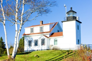 Fort Point Lighthouse in Stockton Springs.