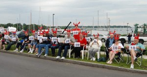 The Crustacean Nation on Vacation from the Berry Manor Inn!!! photo courtesy of Courier Gazette