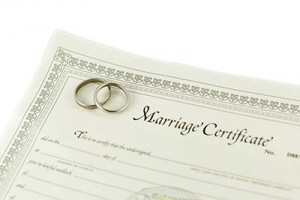 Maine Marriage Certificate