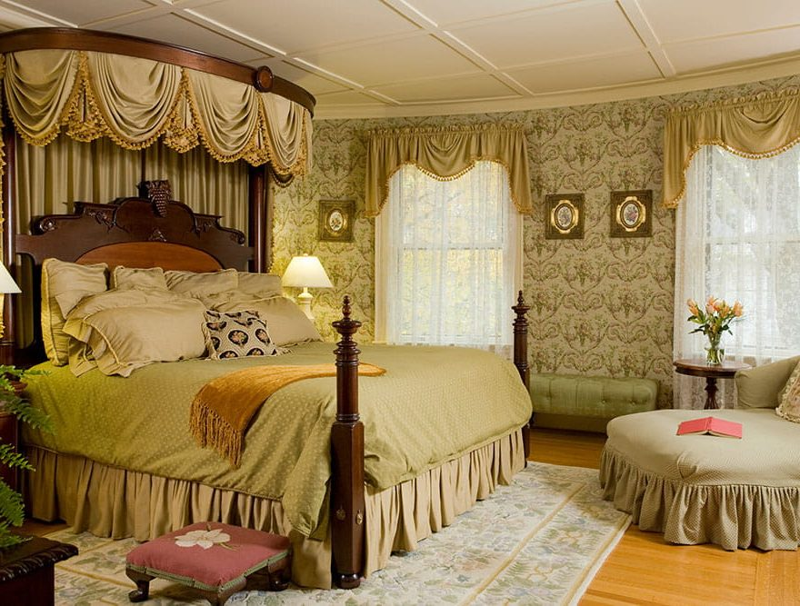Comfortable bed in Room 1